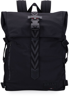 Bally Men's Waterproof Nylon Backpack
