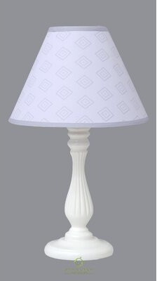 """Zoomie Kids 10"""" Linen Empire Lamp Shade Color: Gray"""