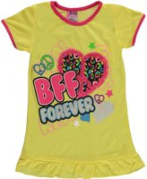 "Angel Face Little Girls' ""BFF Forever"" Nightgown"