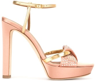 Malone Souliers Lauren crystal sandals