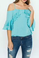 Flying Tomato Frill Love Top
