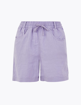 Marks and Spencer Linen Shorts