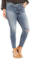 Silver Jeans Co. Plus Robson Straight Leg Jeans