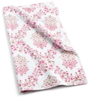 """Sunham Pink Botanical Garden Cotton 30"""" x 54"""" Bath Towel Bedding"""