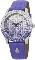 Burgmeister Women's ' Quartz Stainless Steel and Leather Casual Watch, Color: (Model: BMY01-144C)