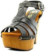 Sbicca Romana Women Open Toe Leather Platform Sandal.
