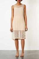 Topshop Sheer Chiffon Dress