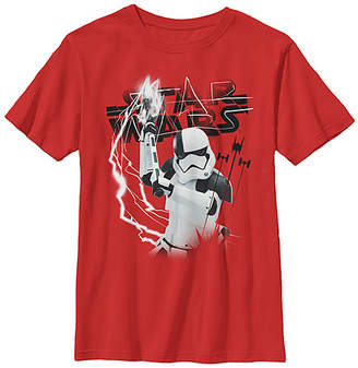Fifth Sun Boys' Tee Shirts RED - Star Wars The Last Jedi Red Electric Trooper Tee - Boys