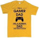 Customised Perfection I'm A Gamer Dad Fathers Advanced Warfare Gaming T Shirt 2XL