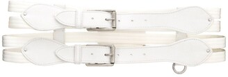 Gianfranco Ferré Pre Owned 2000s Double Strap Belt