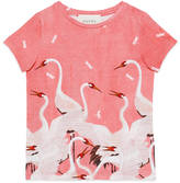 Gucci Children's herons print t-shirt