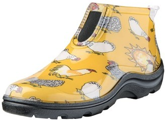 Sloggers 2841CDY07 Size 7 Women's Chicken Daffodil Yellow Ankle Boot
