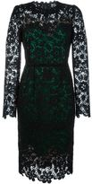 Dolce & Gabbana floral macramé dress - women - Silk/Cotton/Polyamide/Spandex/Elastane - 40