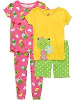 Carter's Frog 4-pc. Pajamas - Girls 12m-24m