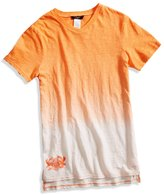 GUESS Short-Sleeve Dip-Dyed V-Neck Tee (8-20)