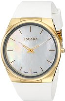 Escada Women's IWW-E2330052 Ellen Gold-Tone Stainless Steel Watch with Mother-of-Pearl Dial