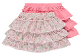 George 2 Pack Frill Tiered Jersey Skirts
