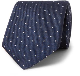 HUGO BOSS 8cm Polka-Dot Silk-Twill Tie