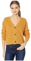Sanctuary Fall For It Cardi (Heather Citrine) Women's Sweater