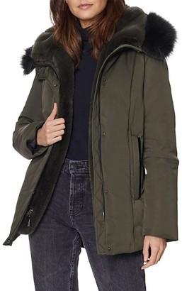 Dawn Levy Luka Fur-Trim Hooded Jacket