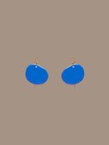 Diane von Furstenberg Flat Disc Earrings
