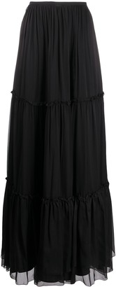 FEDERICA TOSI Tiered Maxi Skirt