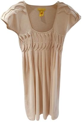 Catherine Malandrino Beige Wool Dress for Women