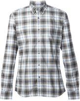 Tomas Maier classic plaid shirt