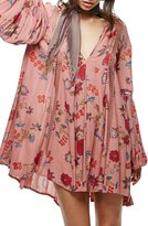 Free People Women's Just The Two Of Us Floral Tunic
