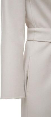 S Max Mara Poldo Belted Wool Coat