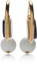 Marni Ocean Earrings with Resin