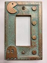 Pac-Man Decorator Switch/Outlet Cover (Aged Patina)
