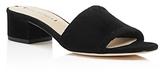 Via Spiga Gwendolyn Low Heel Slide Sandals