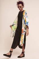 Anthropologie Abstract Tropics Kimono