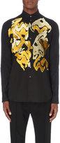 Ann Demeulemeester Flocked Cotton Shirt