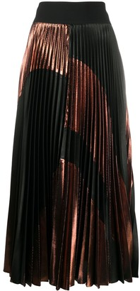 Stella McCartney High-Waisted Pleated Skirt