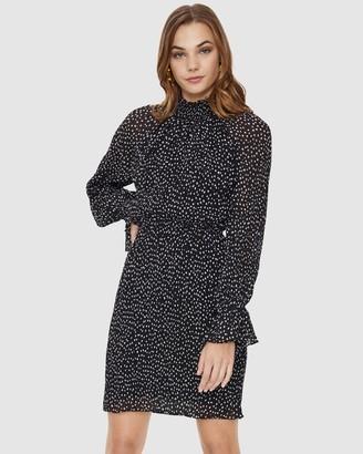 Cooper St Soho Long Sleeve Mini Dress