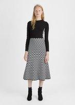 Alexander Wang Checkerboard Skirt
