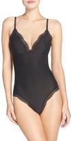 Calvin Klein Women's Sheer Marquisette Bodysuit