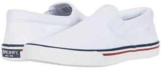 Sperry Striper II Slip-On Nautical (White) Men's Shoes