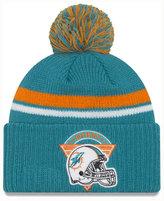 New Era Miami Dolphins Diamond Stacker Knit Hat