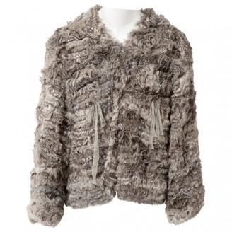 Ungaro Grey Rabbit Coats