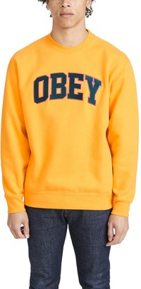 Obey Sports Crew neck Sweatshirt