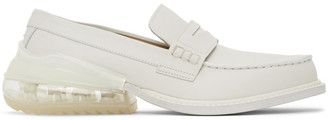 Maison Margiela White Airbag Loafers