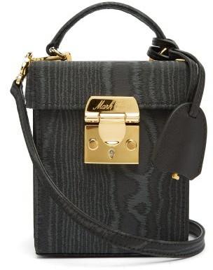 Mark Cross Grace Mini Moire Cross-body Bag - Womens - Black