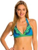 Prana Lahari Solid Halter Bikini Top 7534975