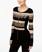 INC International Concepts Peplum Sweater Jacket, Only at Macy's