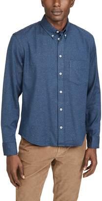 Billy Reid Long Sleeve Kirby Shirt