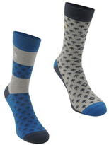 Penguin 2 Pack Palm Socks