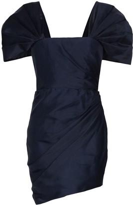 HANEY square neck mini dress